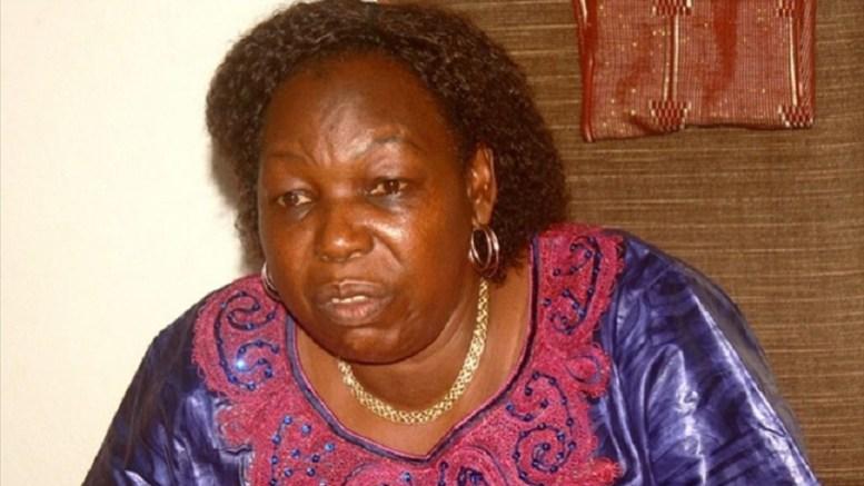 Marie-Noëlle Koyara, ministre de défense de la Centrafrique