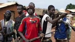 Un groupe des anti-Balaka