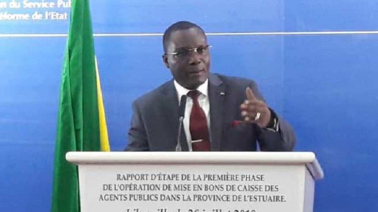 Ali Akbar Onanga Y'Obegué fait le bilan de bons de caisse