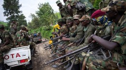 Des militaires à Uvira