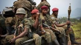 FARDC et Maï Maï à Kivu