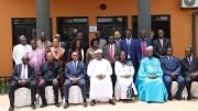 Jean-Claude Kassi Brou et Mohamed Ibn Chambas en Gambie