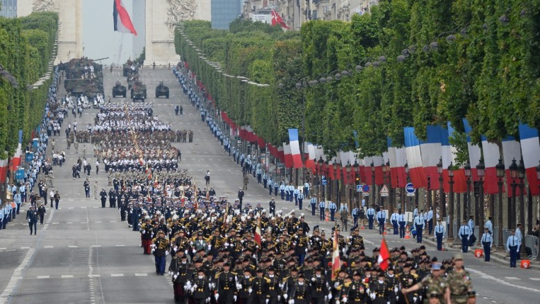 La fête nationale de France