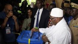 Le vote au Mali dans le calme