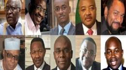 Les candidats au Cameroun