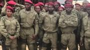 des soldats centrafricains