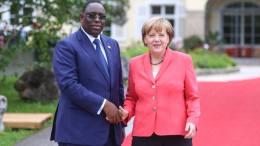 Angela Merkel et Macky Sall