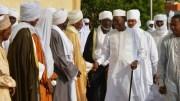 Idriss Déby Itno à la prière de la tabaski