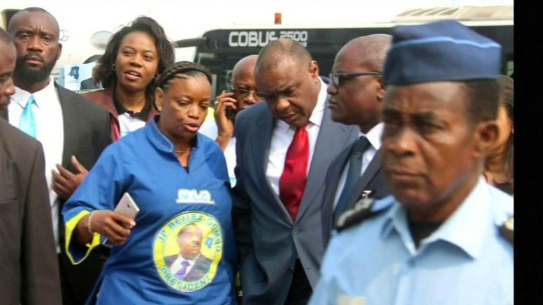 Jean-Pierre Bemba à Kinshasa