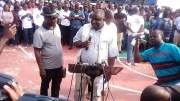 Jean Remy Yama, le président de Dynamique unitaire
