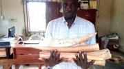 Un des trafiquants d'ivoires