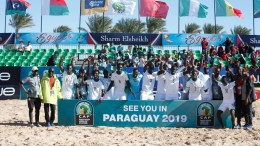 Le Sénégal champion de la Can Beach Soccer 2018