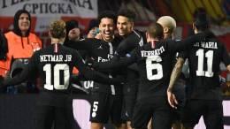 PSG en huitièmes de finale