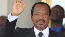 Paul Biya prête serment au Cameroun