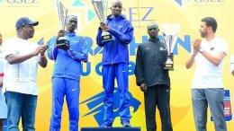 Un duo kenyan maître du marathon du Gabon