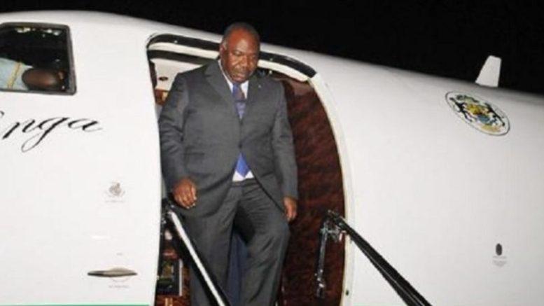 Ali Bongo Ondimba de retour au pays
