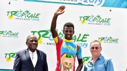Le vainqueur de la 3ème étape de la Tropicale