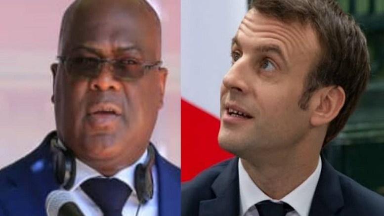Felix Tshisikedi et E. Macron