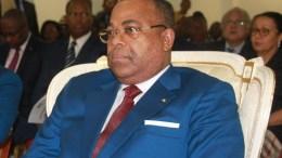 Julien Nkoghe Bekale à la plénière du CND
