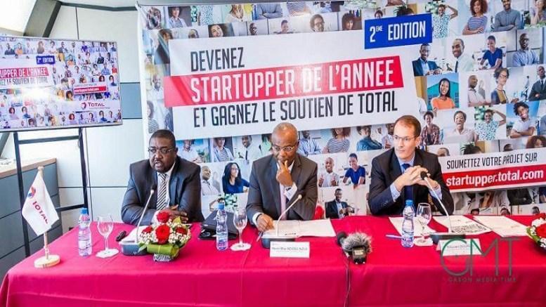 Total Gabon récompense trois Startuppers
