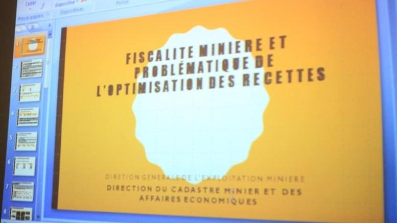 fiscalité minière