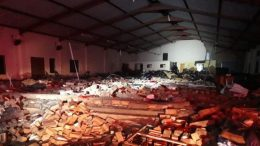 13 personnes tuées dans l'effondrement du toit d'une église