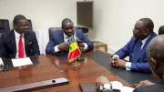 Akon chez Macky Sall