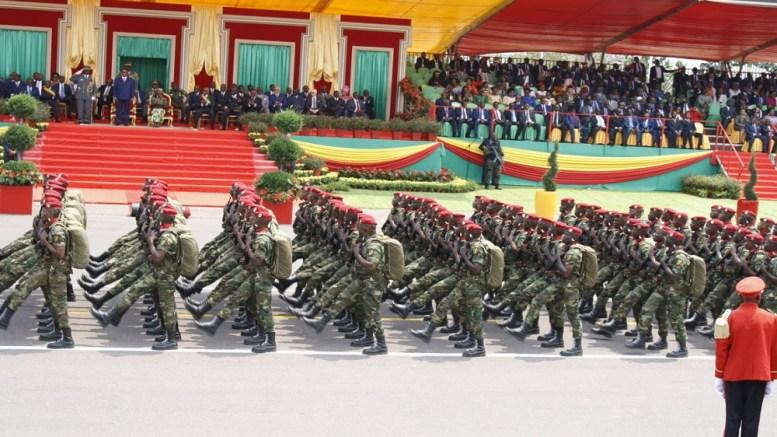 Cameroun PASSAGE DE TROUPE