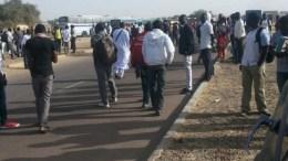 manifestations des étudiants au Tchad