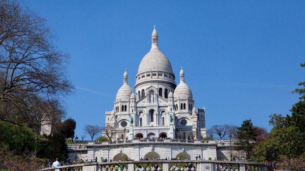 Sacre Coeur De Montmartre Paris France