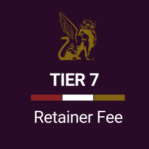 Retainer Fee Tier 7