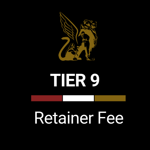 Retainer Fee Tier 9