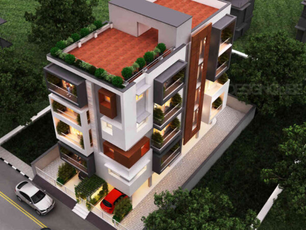 Aize Residence Aerial View