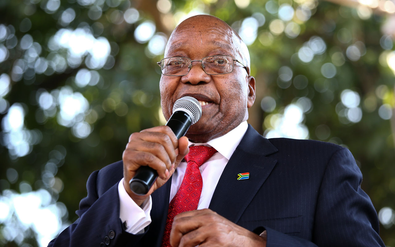Former South African President Jacob Zuma signs record deal - Afrika News