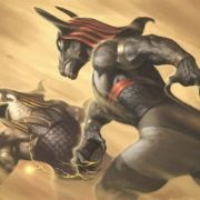 set and horus battle sumerian anunnaki Gods first pyramid war