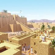 Sumerian Anunnaki Gods Abraham Enlil and second Pyramid War
