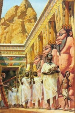 Black Nubian Pharaohs Ancient Egypt