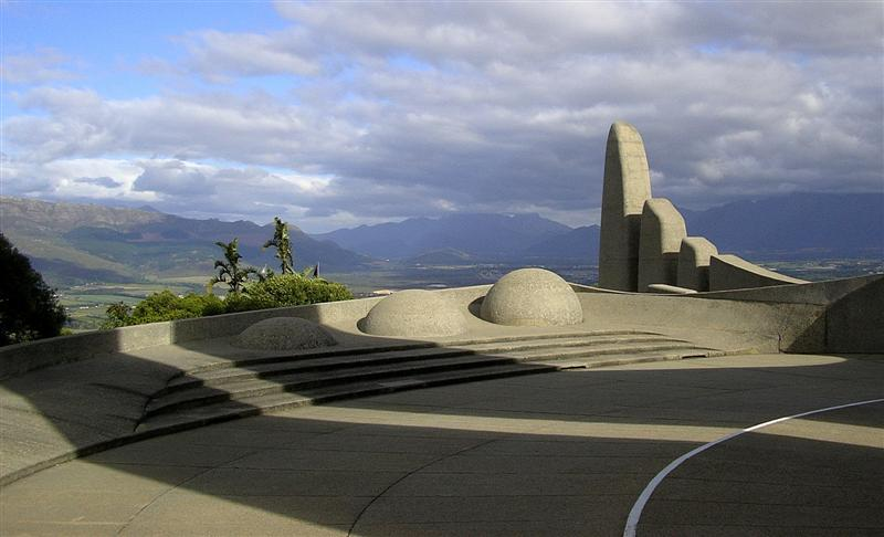 Paarl Monument, some of the attractions in the Paarl