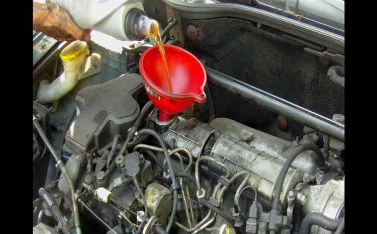vidange du moteur