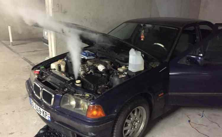 surchauffe moteur