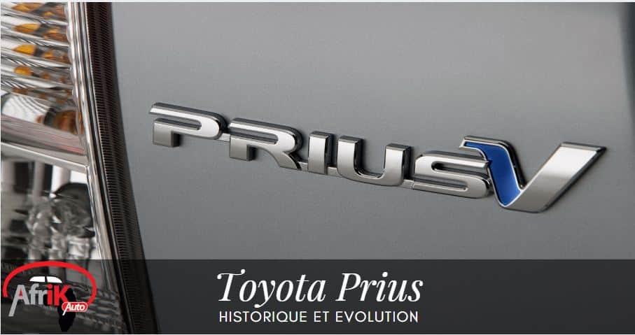 Historique et Evolution de la Toyota Prius