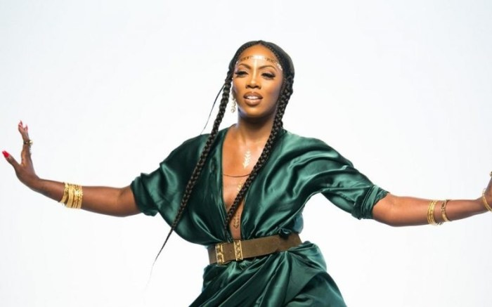 Tiwa Savage nominée