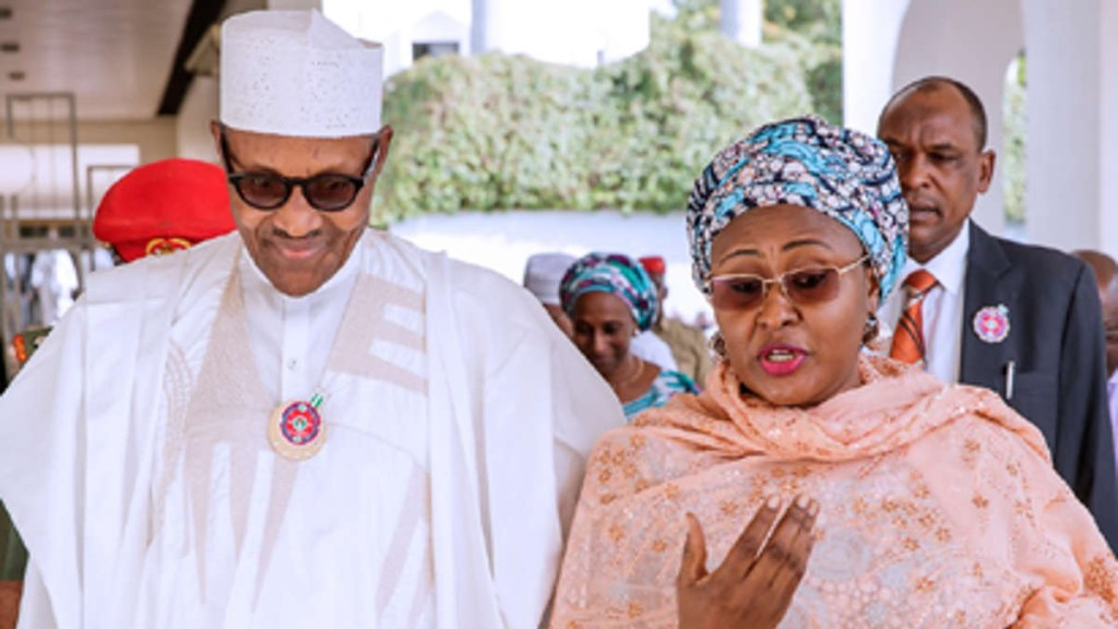 Aisha Buhari Président Buhari