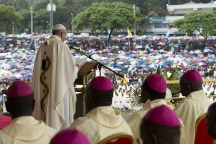 #EndSARS Pape François
