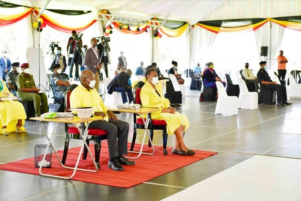 Président Museveni Ouganda