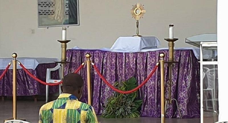 Côte d'Ivoire : Le « saint sacrément » d'une église catholique a disparu