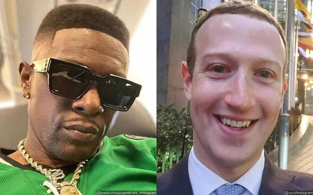 Mark Zuckerberg Boosie Badazz
