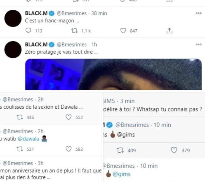 Gims Black M