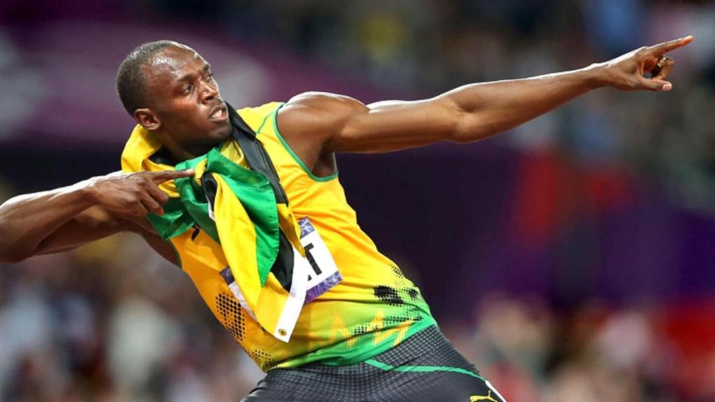 Usain Bolt fille Olympia photos