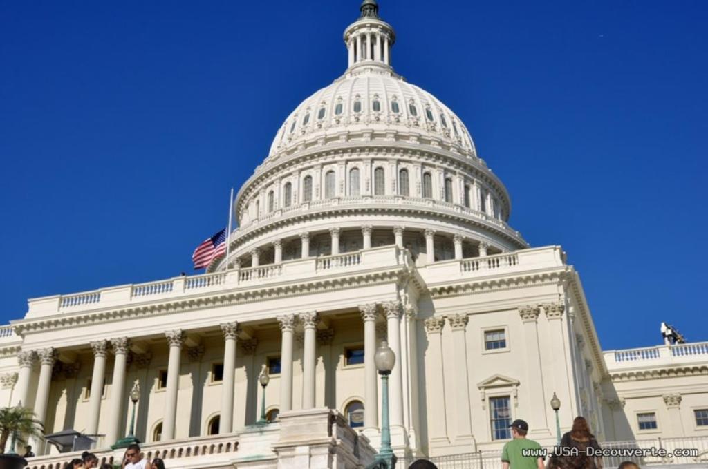 Vol d'ordinateur USA Capitole